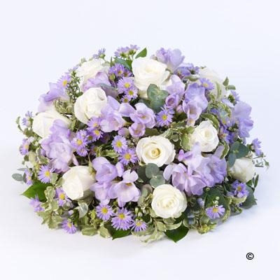 Scented Posy  Lilac and White