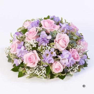 Rose and Freesia Posy   Pink and Lilac
